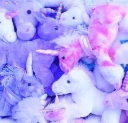Pastel Unicorn Plushies