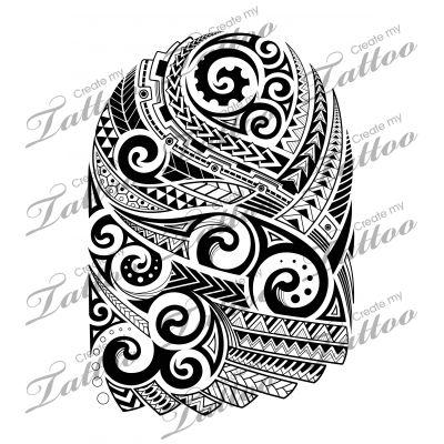 Polynesian quarter sleeve