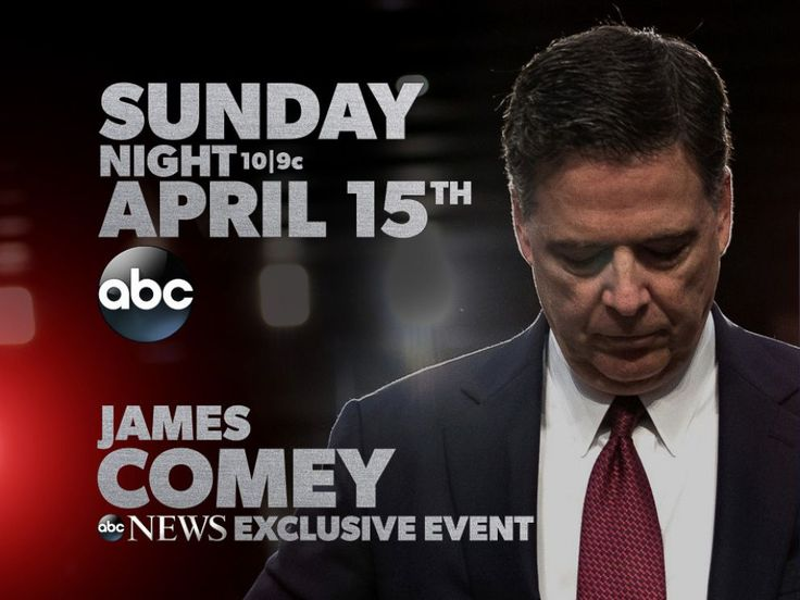 PHOTO: James Comey gives his first interview with George Stephanopoulos.