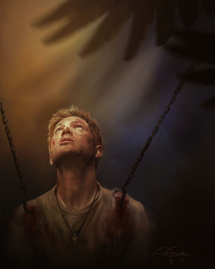 I'm the one that gripped you tight and raised you from perdition #spn #destiel