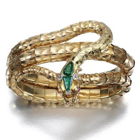 Gold, gem-set and diamond necklace/bracelet, mid 19th century