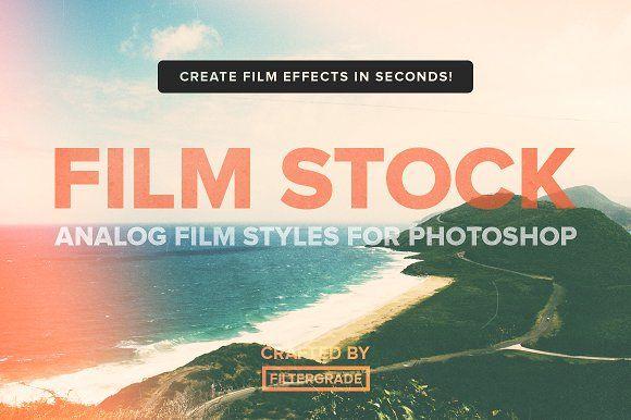 FilmStock - Analog Photoshop Actions by FilterGrade on @creativemarket