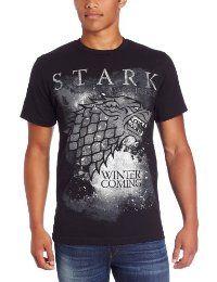 HBO'S Game of Thrones Men's Winter Is Coming, Black, Medium  #TShirt #Men's #GameofThrones