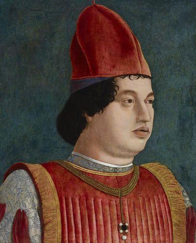 Ritratto del marchese Gian Francesco Gonzaga ~ Francesco Bonsignori -| Accademia Carrara di Bergamo Pinacoteca