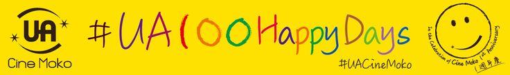 Happy 100 days banner design 1