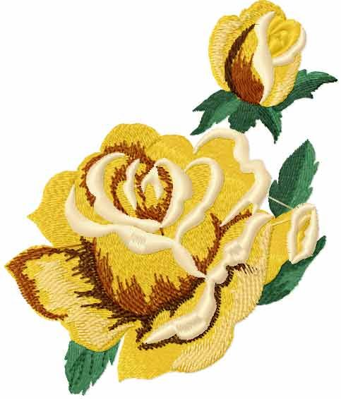 yellow-rose-free-embroidery-design Yellow roses free embroidery design - Machine embroidery forumyellow-rose-free-embroidery-design