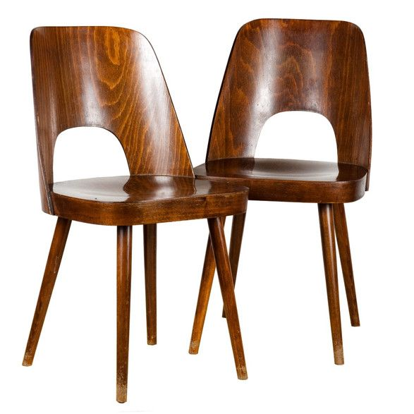 Pair of Oswald Haerdtl chairs