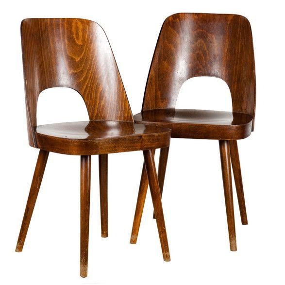 Pair of Oswald Haerdtl chairs