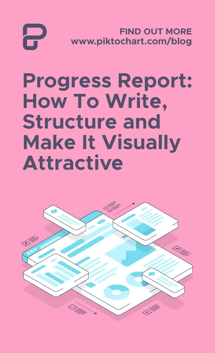 Progress Report How To Write Structure And Make It Visually Attractive Progress Report Progress Work From Home Moms