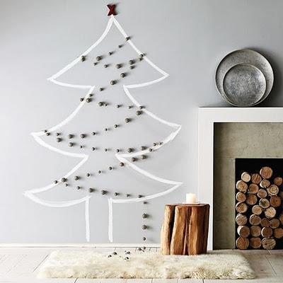 Christmas Tree Masking Tape idea
