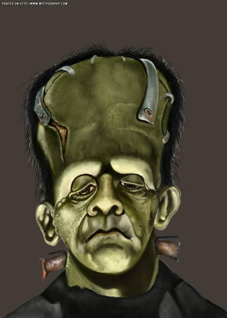 dr frankenstein monster caricatures1 pinterest frankenstein monsters and caricatures. Black Bedroom Furniture Sets. Home Design Ideas