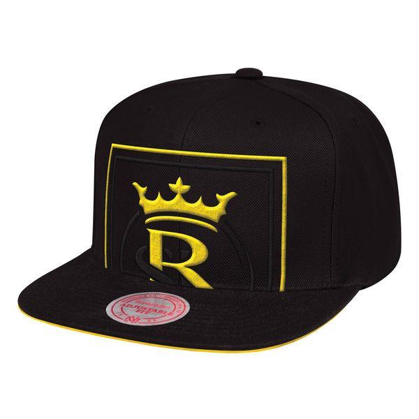 Mitchell /& Ness Utah Jazz Black Cropped XL Adjustable Snapback Hat