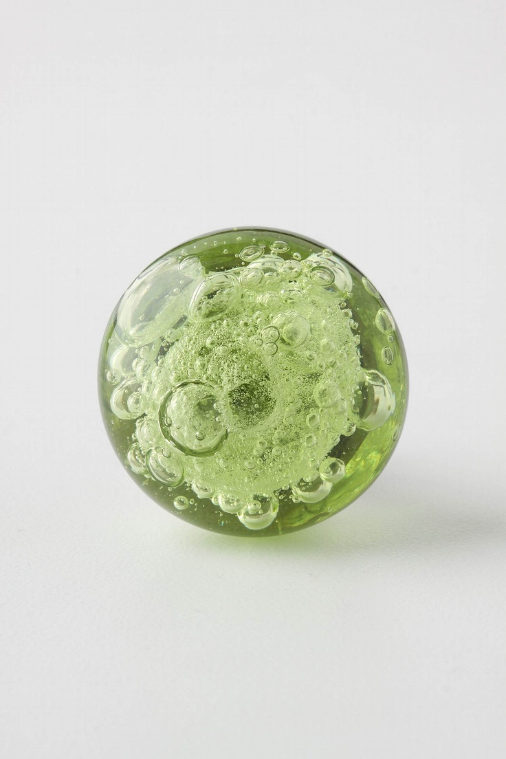 Colored glass door knobs - Glass Bubble Knob