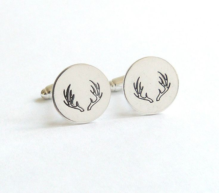 Deer Cuff Links Groomsmen Gift Deer Antler CuffLinks Groom Gift Country Wedding Rustic Wedding Cowboy Wedding Southern Wedding Gift by vintagestampjewels on Etsy https://www.etsy.com/listing/236360931/deer-cuff-links-groomsmen-gift-deer