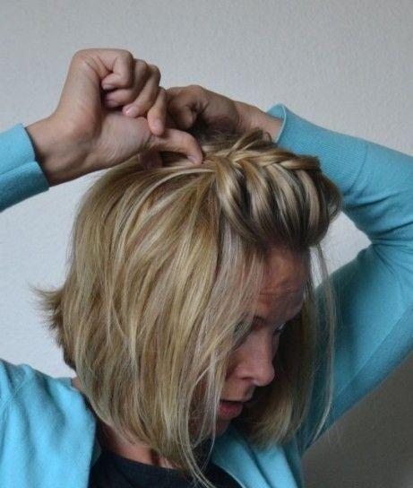 trenzas para pelo corto fotos de los mejores estilismos