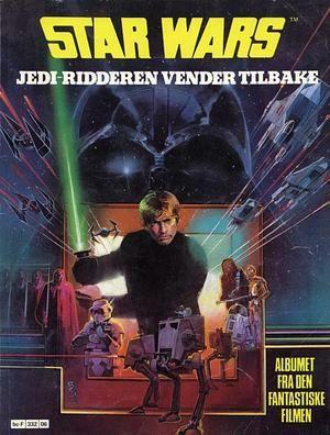 """""""Star wars 6 Jedi-ridderen vender tilbake - Star Wars album 6"""" av Archie Goodwin"""