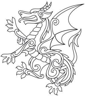 Gilded Heraldry - Dragon_image