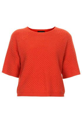 Fine Gauge Half Sleeve Top - Tops - Clothing
