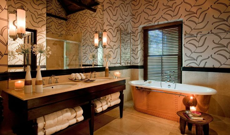 Patterson Suite has a luxurious designer bathroom with heated towel rails