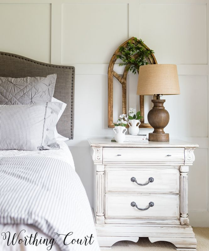 Fixer Upper Farmhouse Style Painted Bedroom Furniture Fixerupper Paintedfurniture