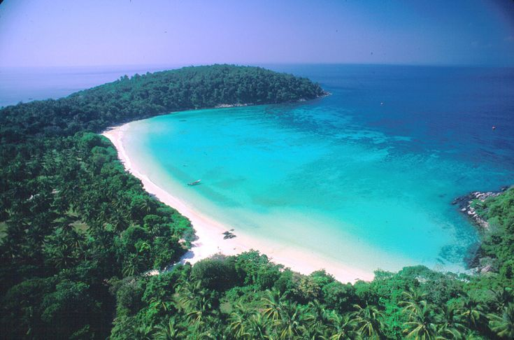 Siam Bay at Koh Racha Yai, southwest of Phuket Island.  Phuket Beaches  Pin...