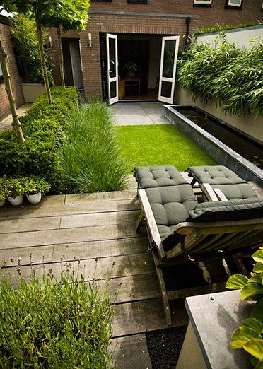 www.buytengewoon.nl stadstuinen groene-achtertuin-met-strakke-vijver-in-elspeet.html