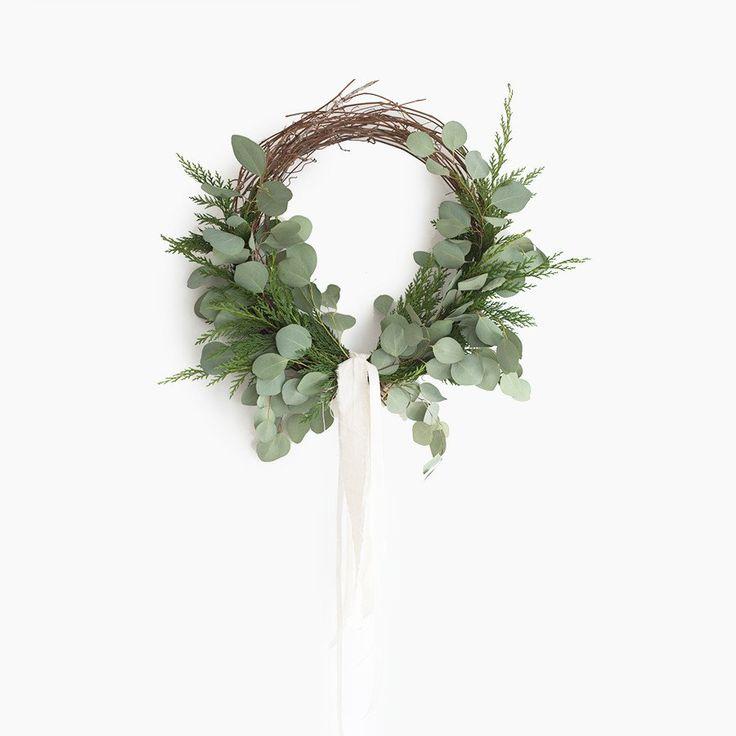 Fresh Cedar and Eucalyptus Wreath
