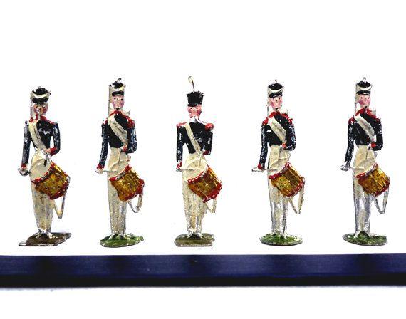 Antique Heinrichsen Toy Soldiers 19th Century by APureVintage
