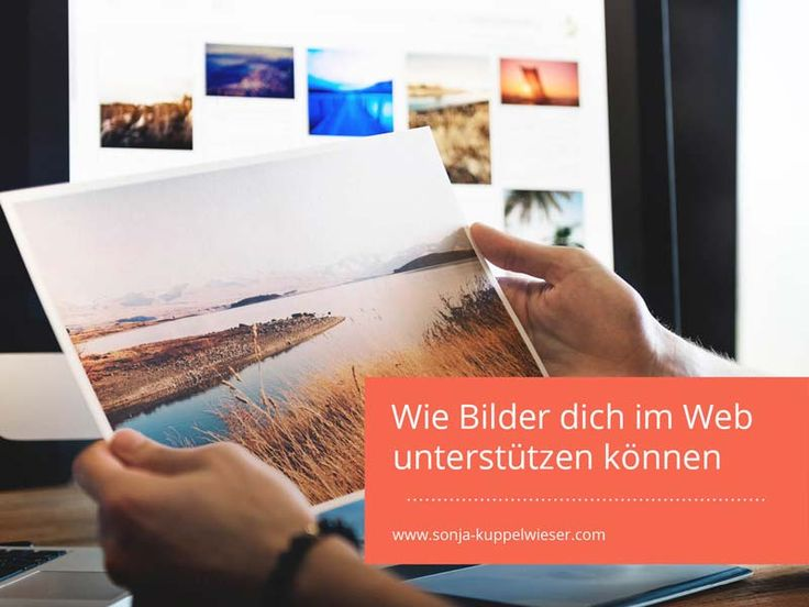 Wie Bilder dich im Web unterstützen können
