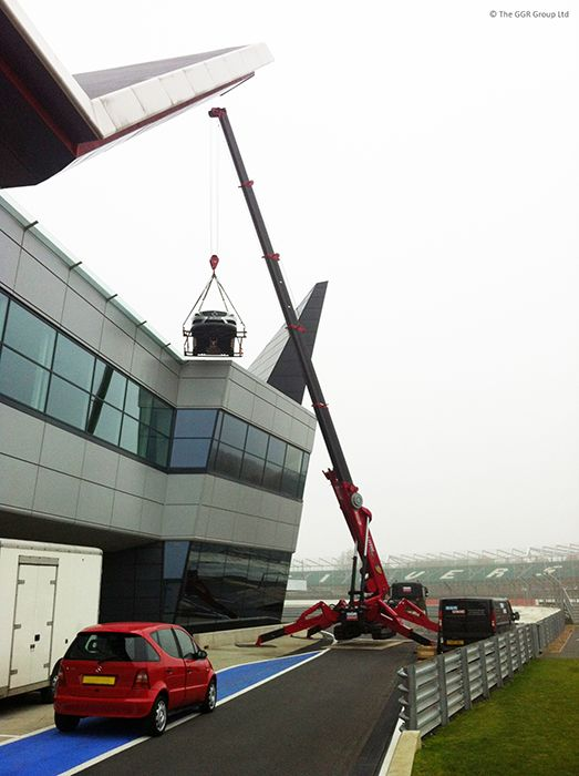 8 best the 10 tonne mini spider crane shows off its strength the urw 1006 lifting cars for an exhibition at the famous silverstone race track aloadofball Image collections