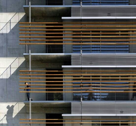 Elevation by Richard Meier .#details