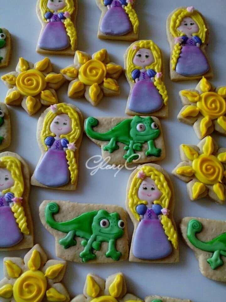Galletas temática Rapunzel