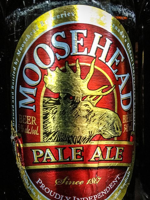 Moosehead Breweries - Moosehead Pale Ale - Saint John, New Brunswick, Canada by mbell1975, via Flickr