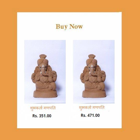 Buy #Ecofriendly Shubhkarta #Ganpati #Idols. Book your idols now - http://matiganesh.com/collections/all  #ganesha #ganeshchaturthi