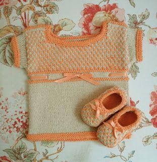 Petit Chou (Free Baby Knitting Pattern)