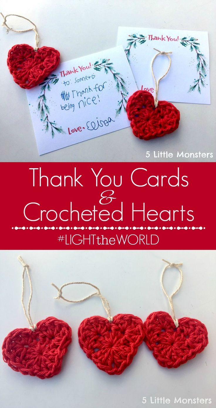 1855 best crochet images on pinterest carpets friends and hands link to free printable thank you cards along with a crochet heart ornament pattern that can be given with the thank you bankloansurffo Image collections