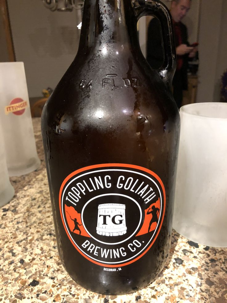 Toppling Goliath Brewing Co Decorah Ia Beer Bottle Brewing Co Bottle