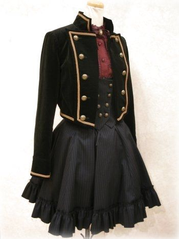 Excentrique Gabriel Jacket with removable swallow tails