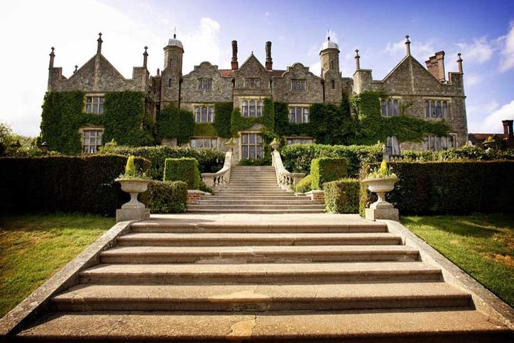 Eastwell Manor Hotel, Kent, UK. We had Christmas here a few years ago,fabulous!