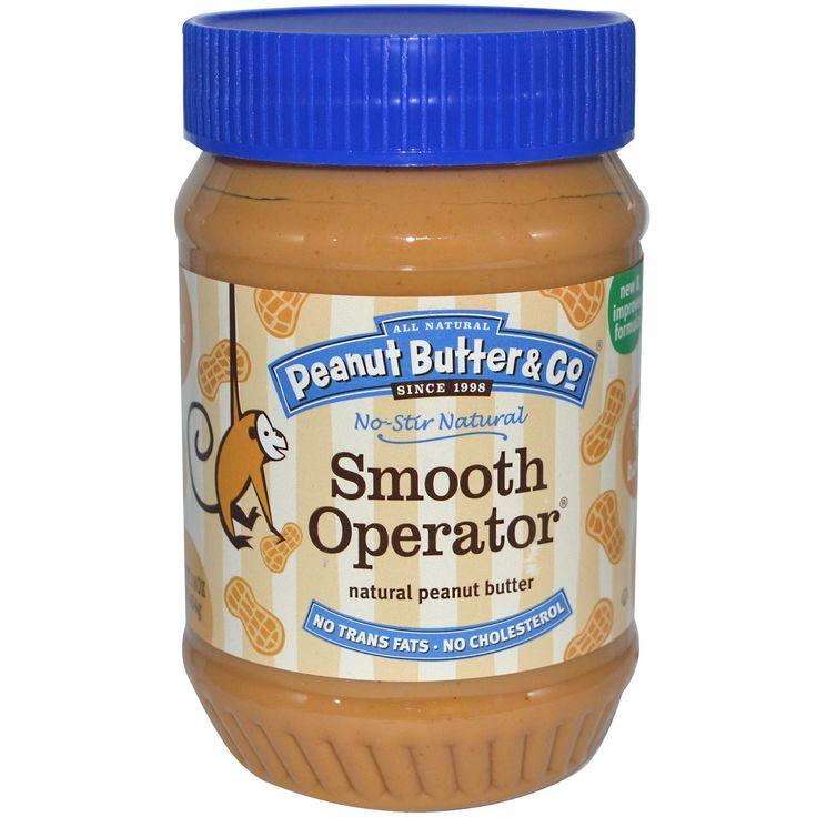 3,96 eur Peanut Butter & Co, Smooth Operator, mantequilla de maní natural, 16 oz (454 g) - iHerb.com
