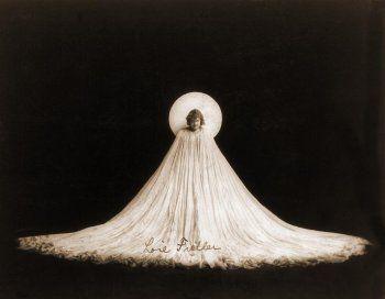 Portrait of Loie Fuller in Salomé, 1900's