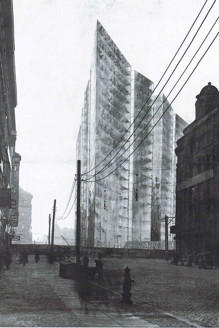 The Collages And Drawings Of Ludwig Mies van der Rohe - Explore, Collect and Source architecture