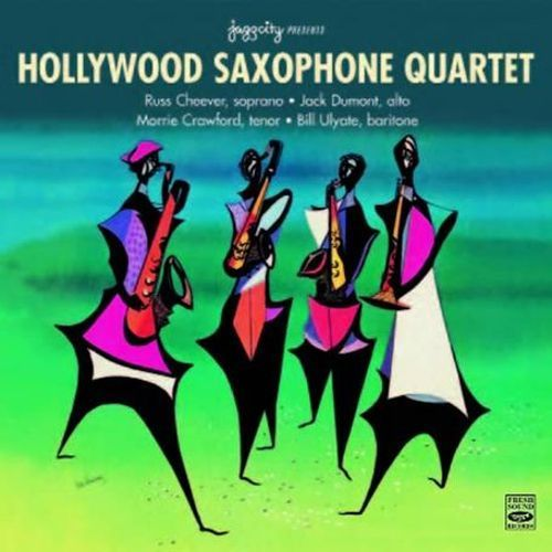 Hollywood Saxophone Quartet [CD]