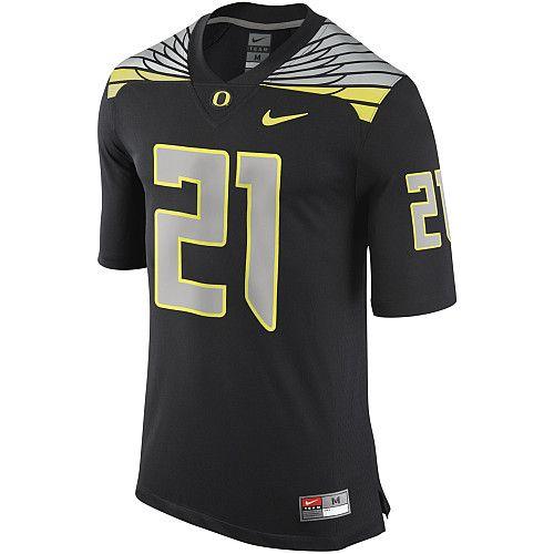 Nike Men's Oregon Ducks #21 Game Jersey