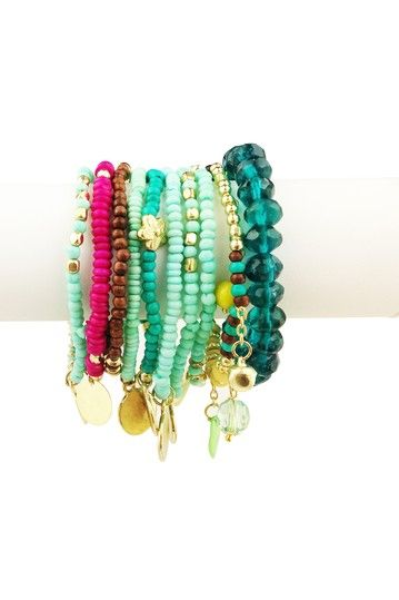 Gypsy Bracelet Set...separate, together or mixed with other pieces