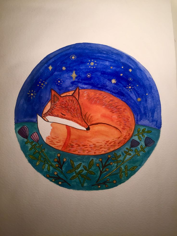 Fox from Le petit prince