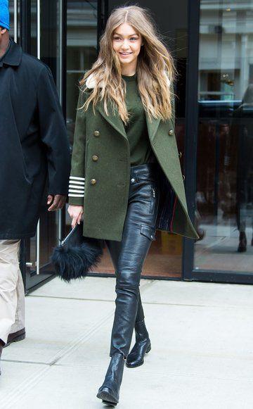 Dieser Gigi-Look ist der Hammer: stylisch, aber trotzdem absolut tragbar.