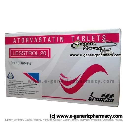 #ATORVASTATIN known as HMG CoA reductase inhibitors and used to treat people who have high cholesterol levels, including those people who have certain inherited cholesterol disorders.  http://www.adv-care.com/prescriptiondrug_generics/ATORVASTATIN.htm