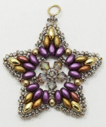 Deb Roberti's FREE Starlight Ornament pattern.