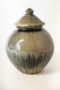Svend Bayer Wood Fired Glazed Pot,. #SvendBayer